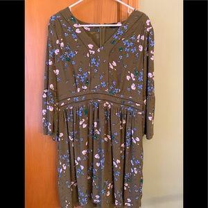 Ann Taylor sheer dress Fall size 12